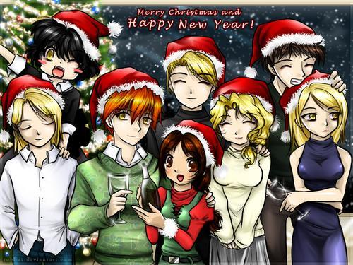 los cullen en navidad