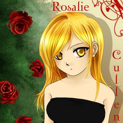 rosalie cullen anime