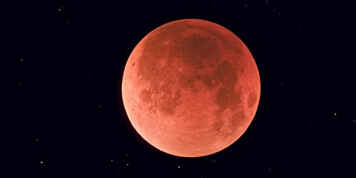 August 28, 2007 - Total lunar eclipse taken near Calgary, Alberta, Canada.